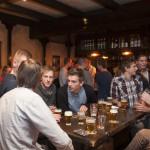 Bedrijfsuitje Heerenveen aan de bar