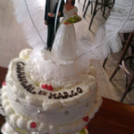 Trouwen in Sneek taart