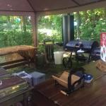 trouwlocatie sneek binnen tuinhuisje