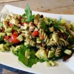 Kip-pesto-salade-van-het-koude-buffet
